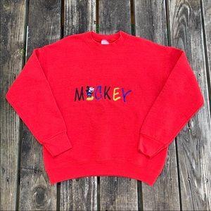 Vintage Disney Mickey Mouse Crewneck
